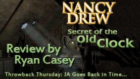 Throwback Thursday - Nancy Drew: Secret of the Old Clock