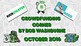 Crowdfunding Corner - October 2016