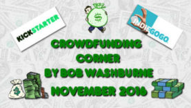 Crowdfunding Corner - November 2016
