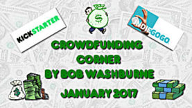 Crowdfunding Corner - January 2017