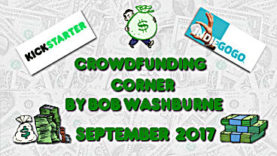 Crowdfunding Corner - September 2017