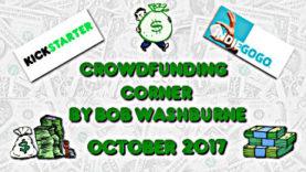 Crowdfunding Corner - October 2017