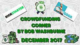 Crowdfunding Corner - December 2017