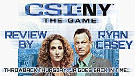 Throwback Thursday - CSI:NY The Game