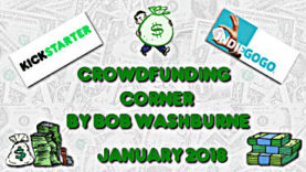Crowdfunding Corner - January 2018