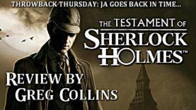 Throwback Thursday: The Testament of Sherlock Holmes