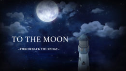 Throwback Thursday -To the Moon